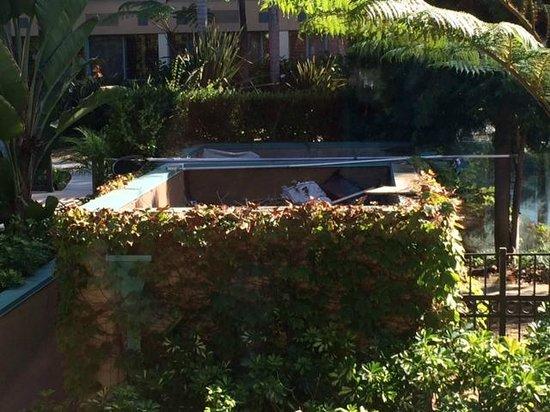 Sheraton La Jolla Hotel: More panoramic view of lovely trash