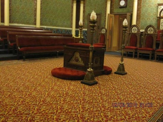 Masonic Temple: 1 of the rooms