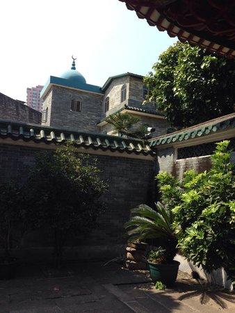 Huaisheng Mosque: Petite cours
