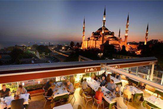 Blue House Hotel : Terrace Restaurant