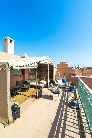 Riad Dar Nael: roof terrace