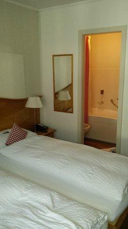 Hotel Bernerhof: Entrada do banheiro