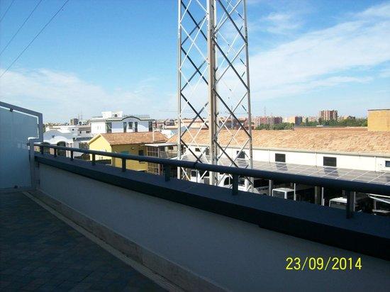 Domidea Hotel: La terraza