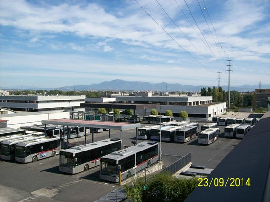 Domidea Hotel: Vista desde la terraza
