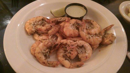 Tidewater Grill: Jerk shrimp