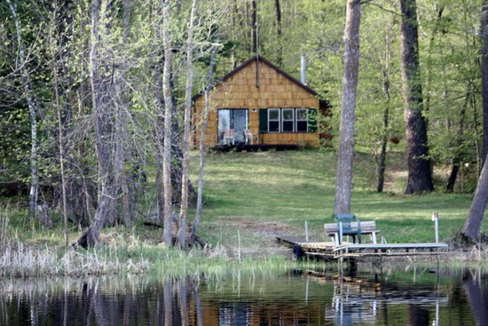 My Lake Home Bed & Breakfast and Tree House : the Cabin