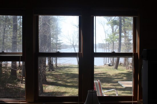 My Lake Home Bed & Breakfast and Tree House : view from inside