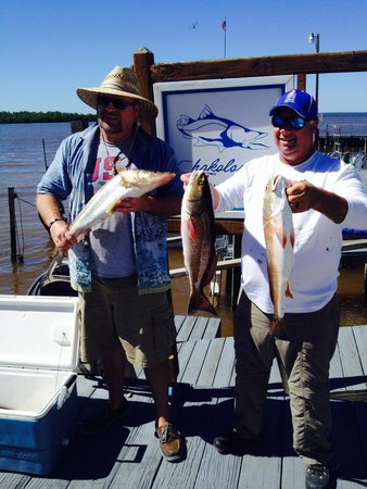 Captain Mike Merritt's Native Guide Service: Capt Mike showed us a helluva great time fishing! Would recommend him to anyone