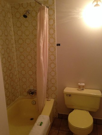 Dilworth Inn: very dated bathroom fixtures