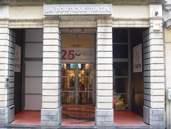 ‪La Boutique Tintin‬