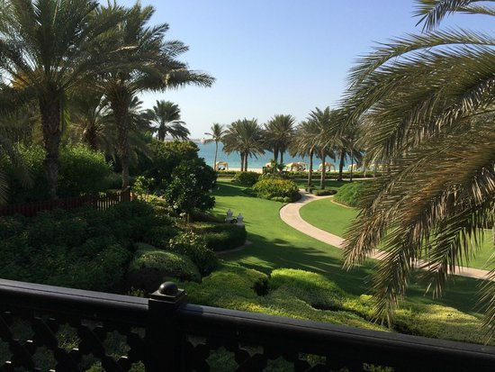 Residence&Spa at One&Only Royal Mirage Dubai: Von der Terrasse