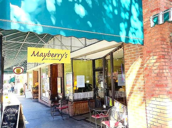 Mayberry's : view from sidewalk