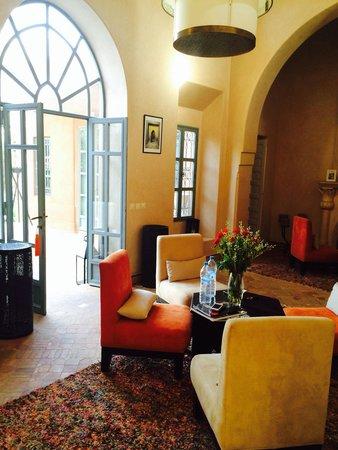 Villa d'Akhdar : Salon
