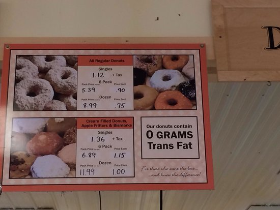 Middlebury, IN : Donut prices