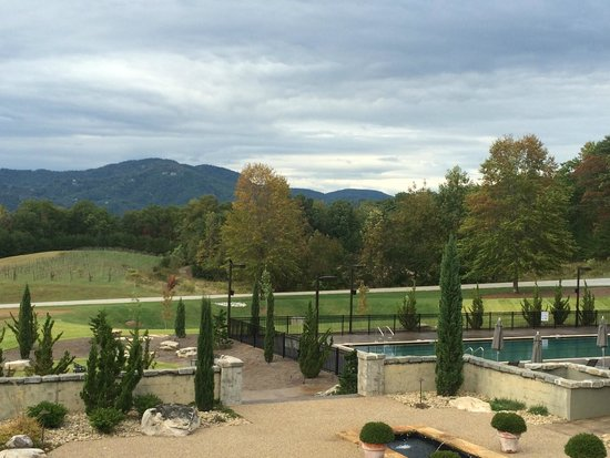 Hotel Domestique: View from Azet Balcony
