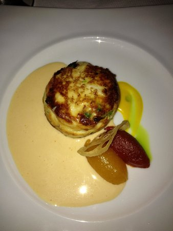 The French Room : Crab cake