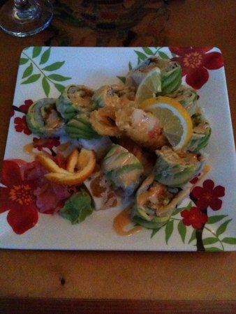 Num Thai Restaurant and Sushi Bar : Lobster rolls: still dreaming about them...