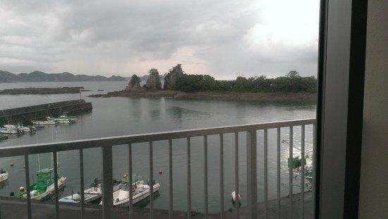 Umino Hotel Ichinotaki: sea