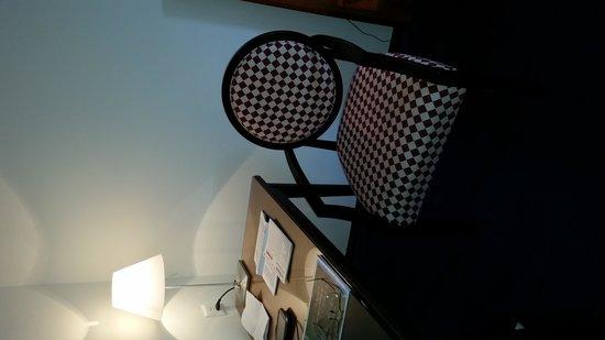 Grand Hotel Europe: cute chair in room