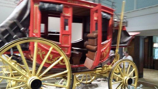 Briscoe Western Art Museum: Wells Fargo stage coach