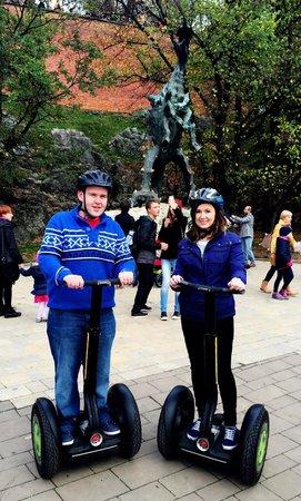 Cool Tour Company: Loving the segwaying in Kraków :)