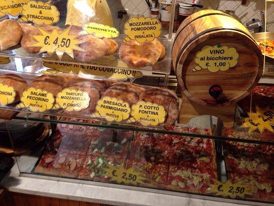 Amici di Ponte Vecchio Da Stefano : Wide selection of the best pizza in Firenze!