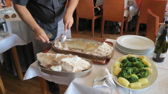 D. Tonho: Salt baked fish