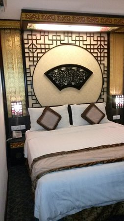 Parit Buntar, Malezja: Nice chinese-themed room