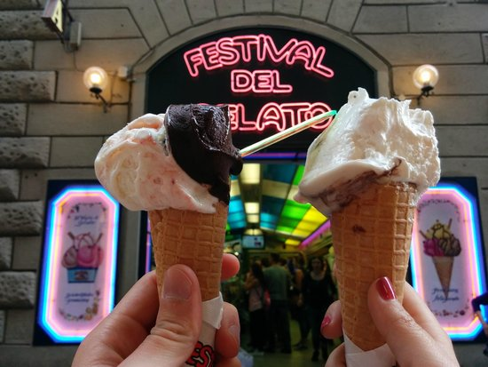 Festival del Gelato: The 2.5 euro cone