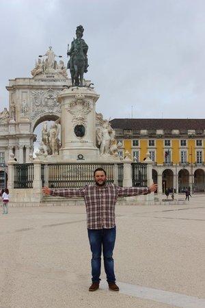 Lisboa Carmo Hotel: praca do comercio