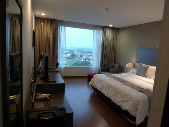Pullman Kuching: Unser Zimmer