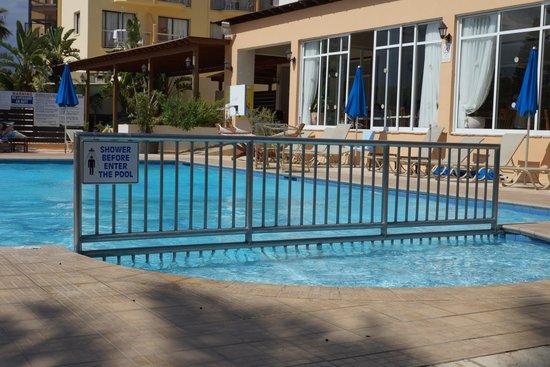 Nelia Beach Hotel: бассейн