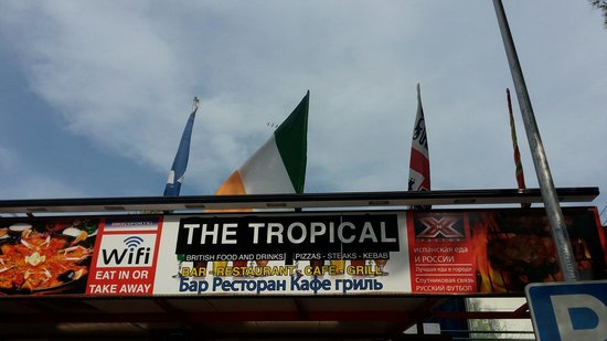 THE TROPICAL BAR AND RESTAURANT