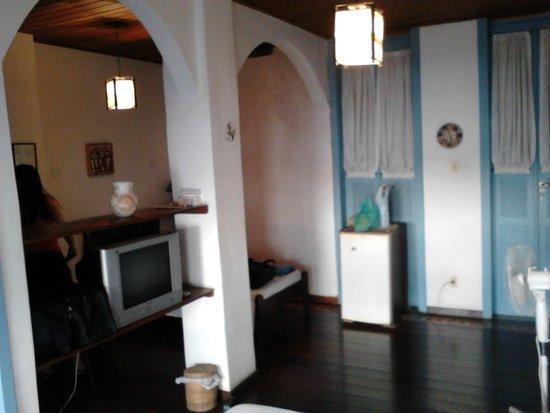 Pousada Villa Carmo: Vista do quarta com sacada