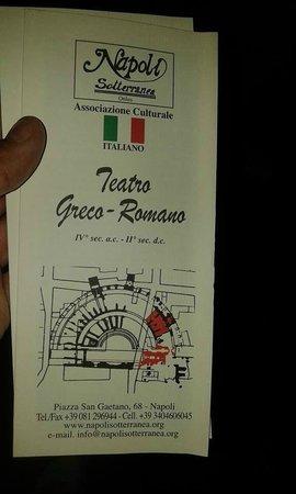 Teatro Greco-Romano : brochure