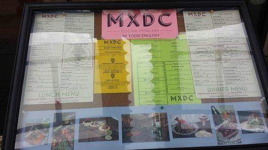Mxdc Cocina Restaurant