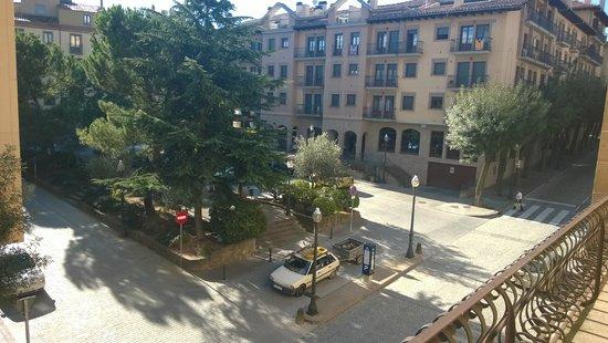 Hotel Sant Roc: vistas desde la habitación