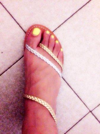 Sandals 4u: Leather sandals