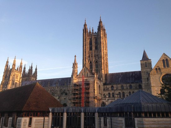Canterbury Cathedral Lodge: View from Room 210