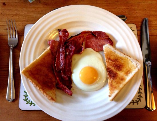 Britannia House: Tasty breakfast!