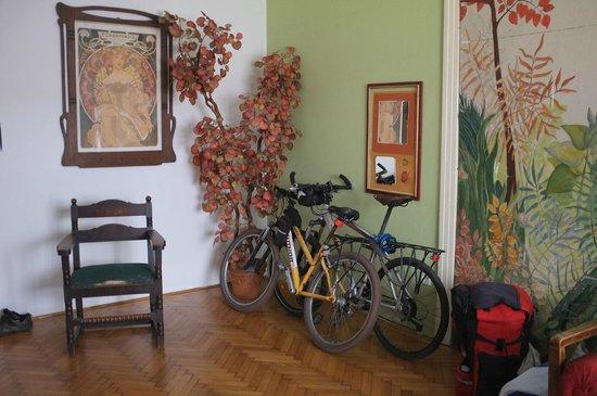 Ginkgo Hostel: комната
