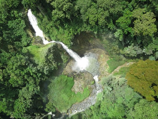 View from the ZIP Line - Picture of Lake Sebu Seven Falls Zipline ...