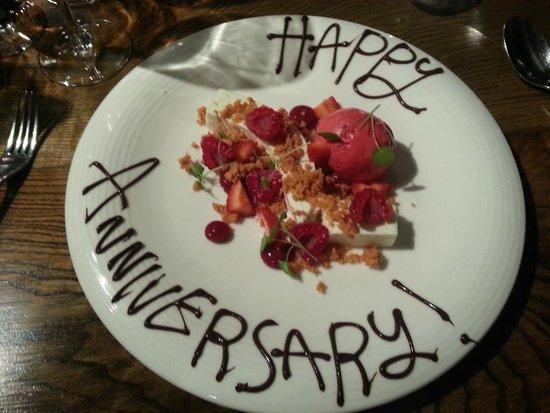 Tanners Restaurant: Dessert 2
