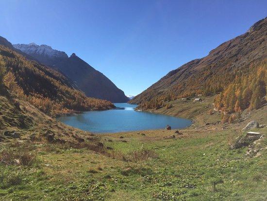 Rifugio Prarayer: meraviglioso panorama dal dehor