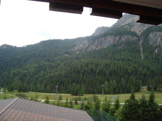 Hotel Cappella : dal balcone della nostra camera