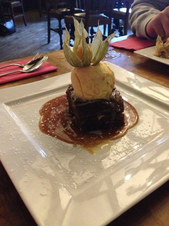 The Village Inn: Sticky Toffee Pudding (was just ok)