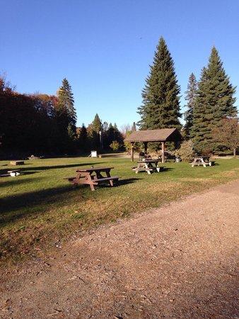 Riverside Motel Dwight: Beautiful grounds