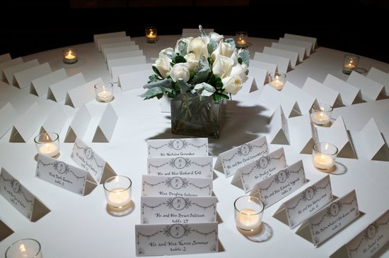 The Blackstone Autograph Collection Escort card table setup - no instructions needed for the & Standard table setup - no instructions needed for the professional ...