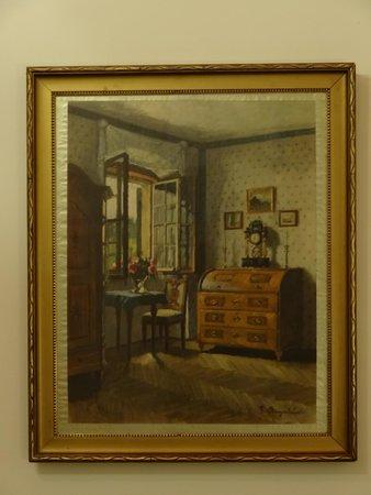 Pension Lechner: Картина на стене.