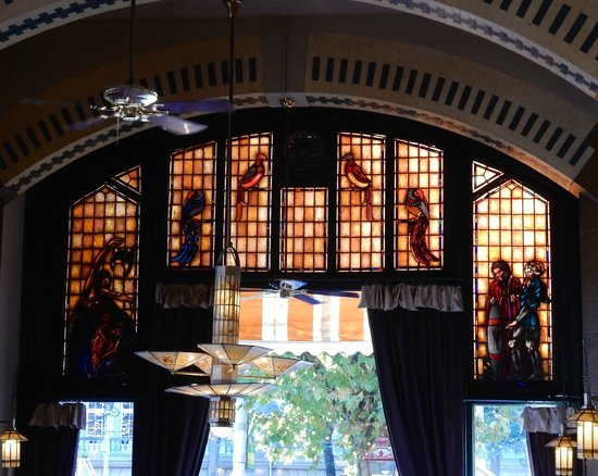 Glas In Lood Amsterdam.Glas In Lood Picture Of Cafe Americain Amsterdam Tripadvisor